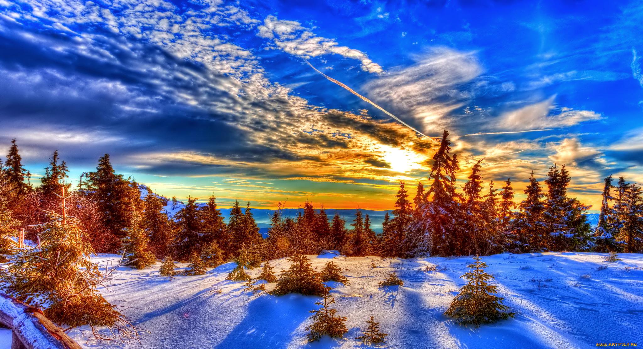 картинки на рабочий стол красота зима большие объяснил